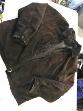Roundtree And Yorke Brown Soft Leather Jacket Size XL