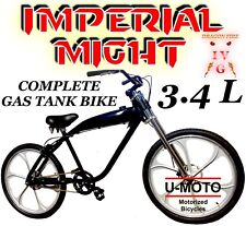 Diy Bicycle For 2-Stroke 49cc/80Cc Motorized Gas Tank Bike Kits