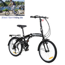 20 pollici Bicicletta pieghevole a 7 Velocità per bambini con adulti Bici Urbana