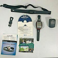 Garmin Forerunner 305 GPS Running Watch & Heart Rate Chest Strap w Accessories