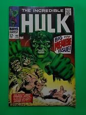 The Incredible Hulk 102 (April 1968 Marvel Comic Origin Retold 🔑 issue CGC?)