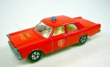 Matchbox Superfast Nr.59A Ford Galaxy Fire Chief Car bespielt
