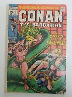 Conan #7 July 1971 GD+ Barry Smith Bronze Age Marvel