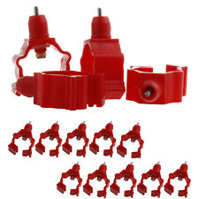 New 20Pcs/Set Automatic In Poultry Chicken Duck Water Nipple Drinker Feeder