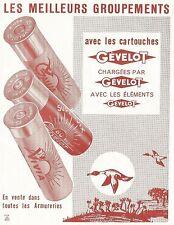 W5368 Gèvelot in vendita in tutte le armerie - Pubblicità 1961 - Advertising