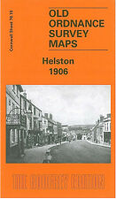OLD ORDNANCE SURVEY MAP HELSTON 1906