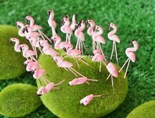 10 Pcs Miniature Dollhouse Fairy Garden Accessories Terrarium Tiny Flamingo #A21