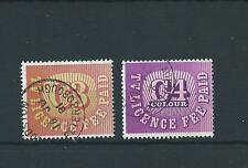 wbc. TV LICENCE STAMPS - C3 & C4 COLOUR - used