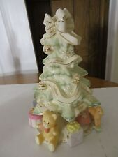 """Lenox """"Holiday Traditions"""" Christmas Tree 2005 24K Gold Accents  NICE CONDITION"""