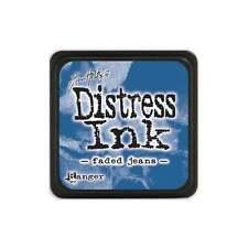 Tim Holtz - Mini Distress Ink Pad - Faded Jeans - Blue