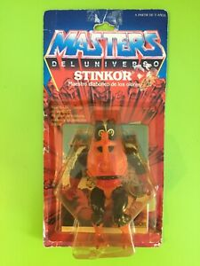 MASTERS DEL UNIVERSO MOTU STINKOR. MATTEL AÑO 1986. LEER DESCRIPCION