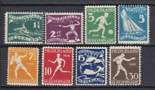 NETHERLANDS 1928 OLYMPICS (ref 11) MM EXCEPT 71/2 MNG