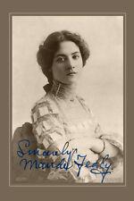 MAUDE FEALY Silent Film Actress Beauty Photo A++ Cabinet Card CDV