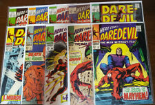 DAREDEVIL LOT OF 10 ISSUES 33 36 40 41 44 47 48 49 50 51 - GD TO VF