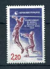 New listing France 1986 Men's World Volleyball Championships stamp. MNH. Sg 2731