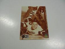 Terry Sawchuk, The True Mr. Zero 1991 NHL Pro Set card #343