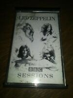 #707 Led Zeppelin BBC Sessions 2 Cassette Tape Set 1997 + Houses Of The Holy.