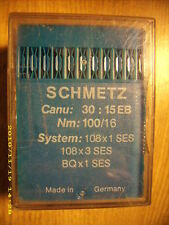 87 pc Schmetz sewing machine needles 108x1 Ses 108x3 Ses Bqx1 Ses Nm 100/16