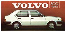 Volvo 300-Series 1984-85 UK Market Foldout Sales Brochure 340 360