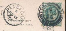 Handstamped Used Edward VII (1902-1910) British Postal History