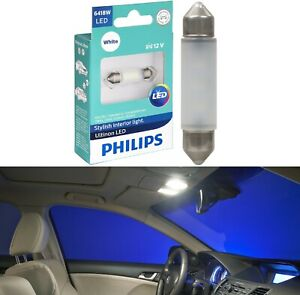 Philips Ultinon LED Light 6418 White 6000K One Bulb Interior Dome Replacement OE