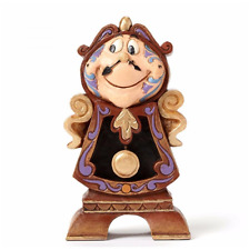Disney Traditions Ornament Cogsworth Clock Figurine Beauty & the Beast