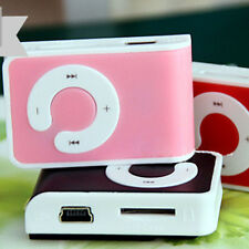 Cute Mini Clip USB MP3 Music Player Support 1-16GB Micro Memory SD TF Cards Cool