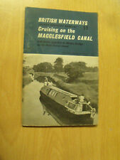 Cruising on the Macclesfield Canal - Booklet