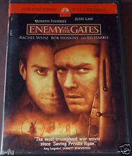 ENEMY AT THE GATES DVD Rachel Weisz Joseph Fiennes Jude Law Ed Harris Bob Hoskin