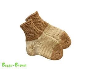 Socks 100% MERINO WOOL baby boy girl newborn toddler leg warmers knitted smart
