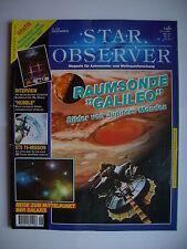 """Star Observer Dezember 1996: Raumsonde """"Galileo""""/ STS 79/ """"HUBBLE""""/ Reise zum Mi"""