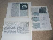 Teac 2300s Open Reel Review, 3 pg, 1974, Full Test