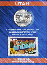 USPS Utah State Quarter� and Stamp Set