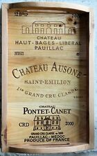 35 BRANDED WOOD WINE PANELS. Assorted CRATE / BOX Wood Different Sizes Great Lot