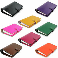 Filofax 'The Original' Thick Leather 6 Ring Handmade Personal Organiser Diary