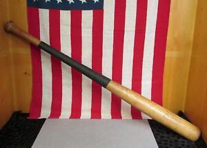"Vintage Adirondack Wood Baseball Bat 302 Rick Rollins Personal Model 35"" Twins"