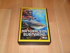 NATURALEZA SUBMARINA SERIE DOCUMENTAL EN DVD DE NATIONAL GEOGRAPHIC CON 10 DISC