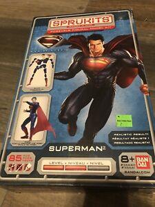 Bandai Sprukits Superman Poseable Model Kit