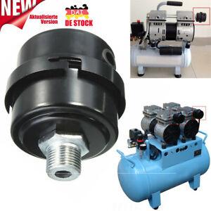 Luftfilter Filter Schalldämpfer Auspuff Intake 3/8BSP 16mm für Luftkompressor