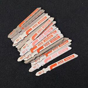 50 Noir & Decker A5446 Tige T Lames de Scie Pour Métal, Aluminium & PVC 3-15mm