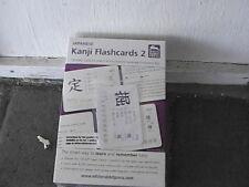Japanese Kanji Flashcards,  Volume 2 (Japanese and English Edition) NEW SEALED