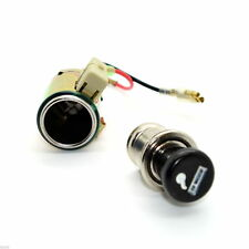 12V Universal High Quality Car Cigarette Lighter Socket and Plug Illuminated