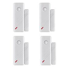 Wireless Door Window Gap Switch Sensor Detector 433Mhz 2in1 Door Emergency Panic