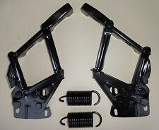 Mustang 67 - 70 Hood Hinge Spring Kit New Pair Left & Right Side