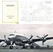 C-69 749 L049 Constellation 1940's  Engineers Handbook historic archive rare