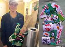 Steve Vai's Green Meanie guitar stickers Charvel vinyl decal skate Full Set 19