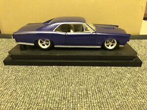 1966 PONTIAC GTO MODIFIED 1/18 100% HOT WHEELS