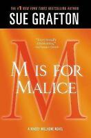 """M"" is for Malice: A Kinsey Millhone Novel (Kinsey Millhone Alphabet Mysteries)"