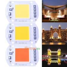 50W 220V LED Warmweiß Flutlicht Lampen COB Chip Smart IC Treiber Lampe 60*40mm