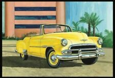 1951 Chevy Bel Air Convertible 1:25 Scale AMT Detailed Plastic Kit